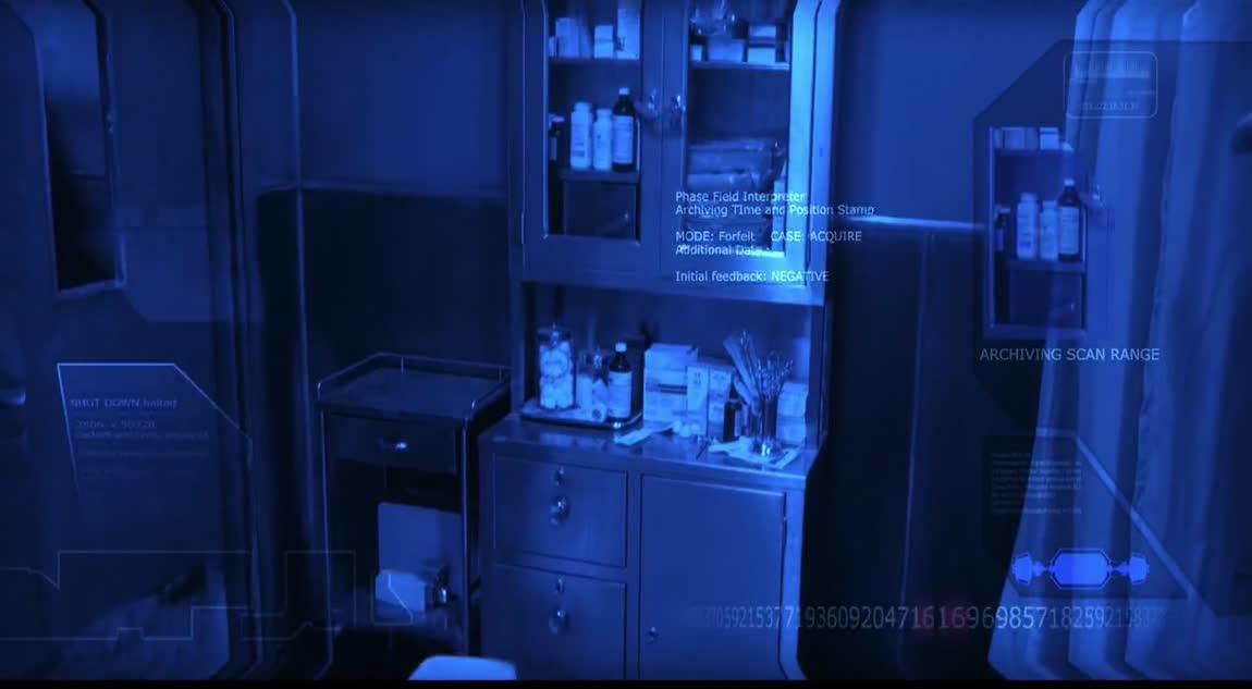 Terminator 3 - The T-X Analyzes Blood Using Head's Up Display