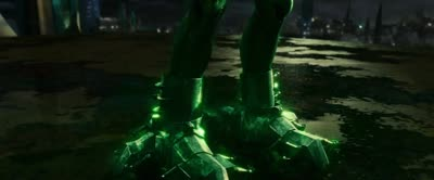 Green Lantern - Hal and the Ring Go Through Combat Training