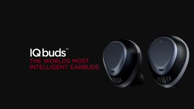 IQbuds - The World's Most Intelligent Wireless Earbuds
