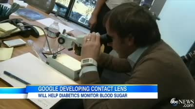 Google Developing Contact Lens Device To Help People