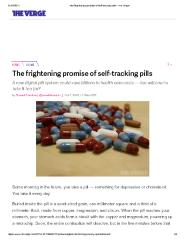 The frightening promise of self-tracking pills