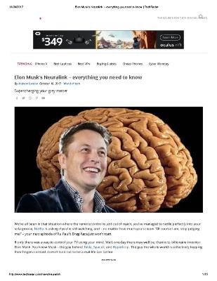 Elon Musk's Neuralink – everything you need to know