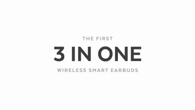 Here One - The First 3-In-1 Wireless Smart Earbuds
