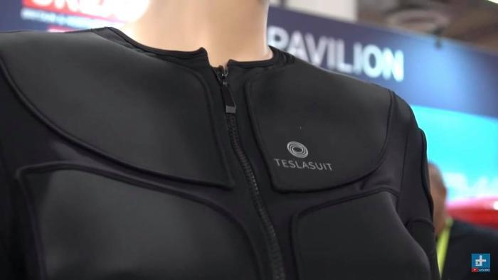 Tesla Suit at CES