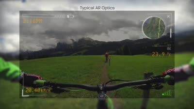 Lumus Augmented Reality - Mountain Bike