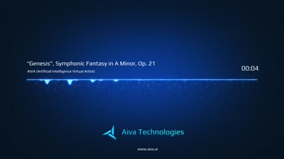 "AIVA - ""Genesis"" Symphonic Fantasy in A minor, Op. 21"