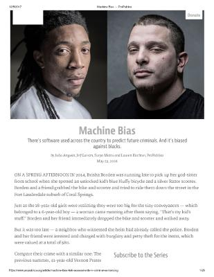Machine Bias