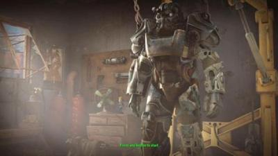 Fallout - Power Armor Frame