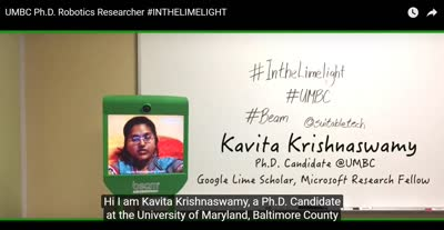 UMBC Ph.D. Robotics Researcher #INTHELIMELIGHT