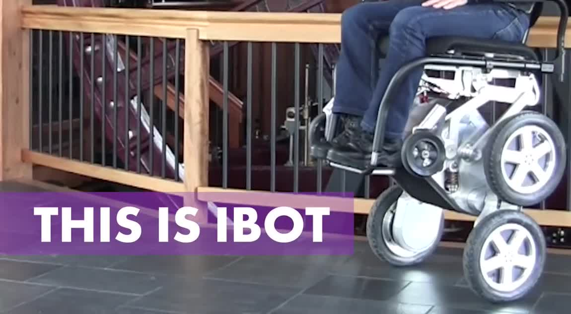 This revolutionary wheelchair can climb stairs!