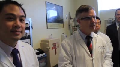 RI Hospital begins using Google Glass technology
