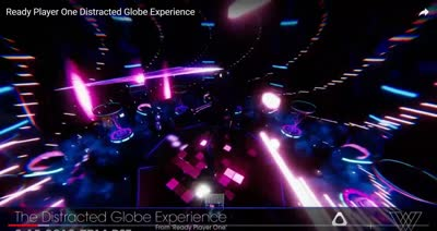 Ready Player One - Distracted Globe Experience (TheWaveVR)