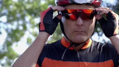 Solos Cycling Glasses with Heads Up Micro-Display