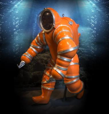 Newtsuit Atmospheric Diving Suit Replica, 1986