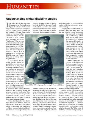 Understanding Critical Disability Studies