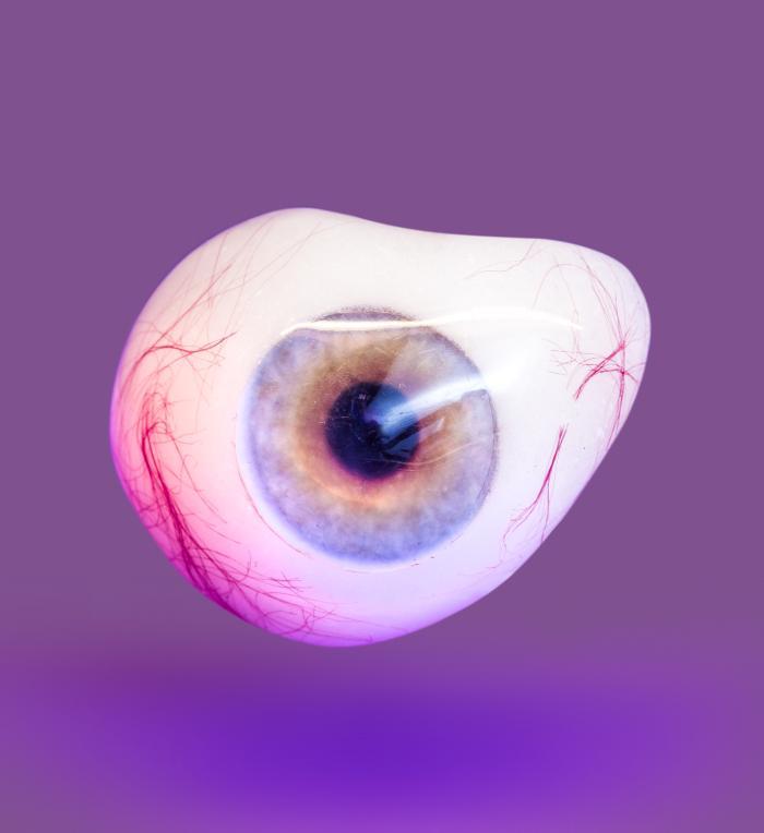 Ocular Prosthetic, 1949