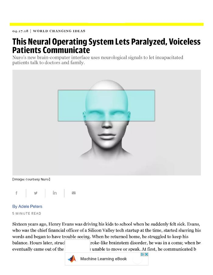 This Neural Operating System Lets Paralyzed, Voiceless Patients Communicate