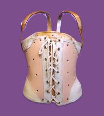 <b>Polyethylene Corset, 1967</b> <br /> Artifact no. 2004.0099 <br /> Canada Science and Technology Museum