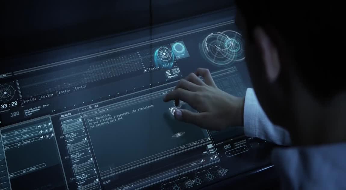 Ender's Game - Simulation