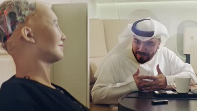 Sophia The Robot Experiences Abu Dhabi | Etihad Airways