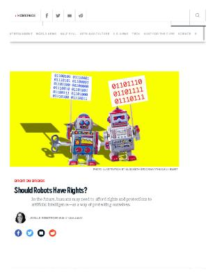 Should Robots Have Rights?