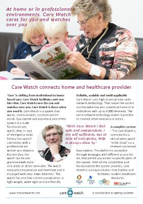 The Care Watch Pamphlet
