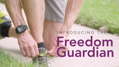 Medical Guardian Introducing the Exclusive Freedom Guardian - CES 2018
