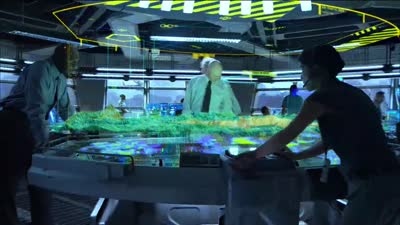 Avatar - Interactive Holographic Display