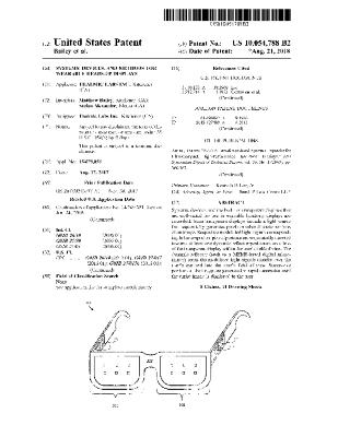 Systems, devices, and methods for wearable heads-up displays (Patent US10054788B2)