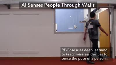 AI Senses People Through Walls
