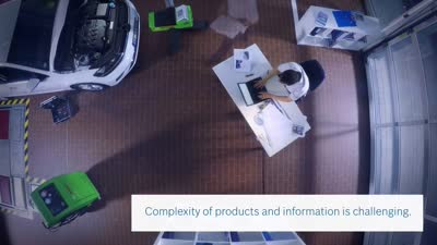 Bosch Augmented Reality for the automotive workshop