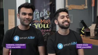 2018 Imagine Cup World Finalist Showcase: Team smartARM