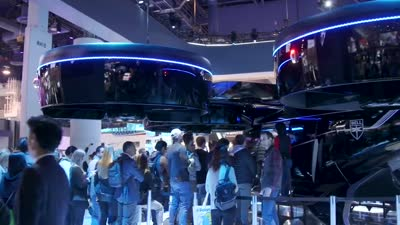 Bell Nexus First Look at CES 2019: Uber's future people movers