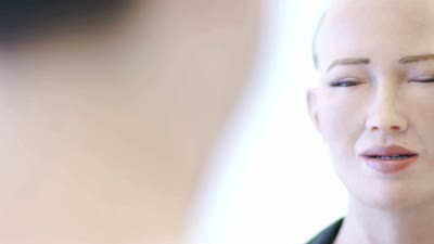 Loving AI Research Project and Sophia the Robot: Glitch