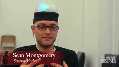 Sean Montgomery's Brain-Hat and Heart-Shirt