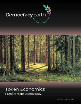 Democracy Earth - Token Economics: Proof of Stake Democracy