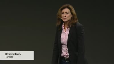 Trimble XR10 With HoloLens 2 Announcement by Roz Buick at MWC Barcelona