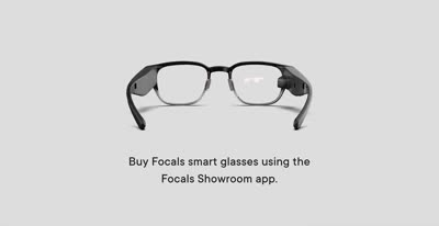 Introducing the Focals Showroom app