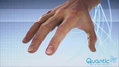 QUANTIC GLOVE DETAIL