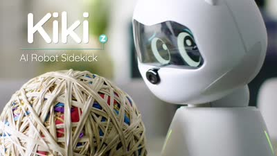 Kiki - Conscious, Learning Robot Sidekick