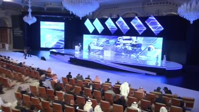 Robot Sophia speaks at Saudi Arabia's Future Investment Initiative