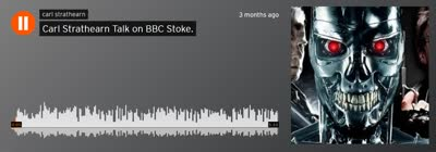 Carl Strathearn Talk on BBC Stoke