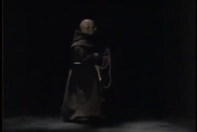 Automaton friar in action