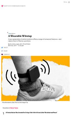 A Wearable Wiretap