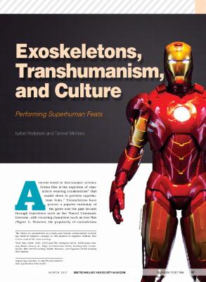Exoskeletons, Transhumanism, and Culture: Performing Superhuman Feats