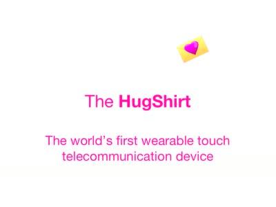 CUTECIRCUIT HugShirt