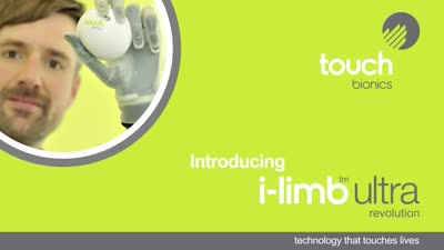 Touch Bionics - i-limb revolution