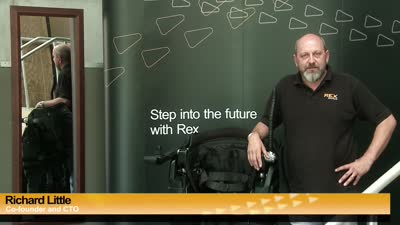 Developing REX, the hands-free robotic walking device - Designed to be Incredibly Stable