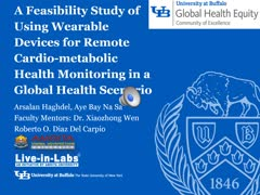 Using Wearable Devices for Remote Cardio-metabolic Health Monitoring in a Global Health Scenario