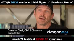 'Pandemic Drone' Conducts Initial Flights Near NYC to Detect COVID-19 Symptoms